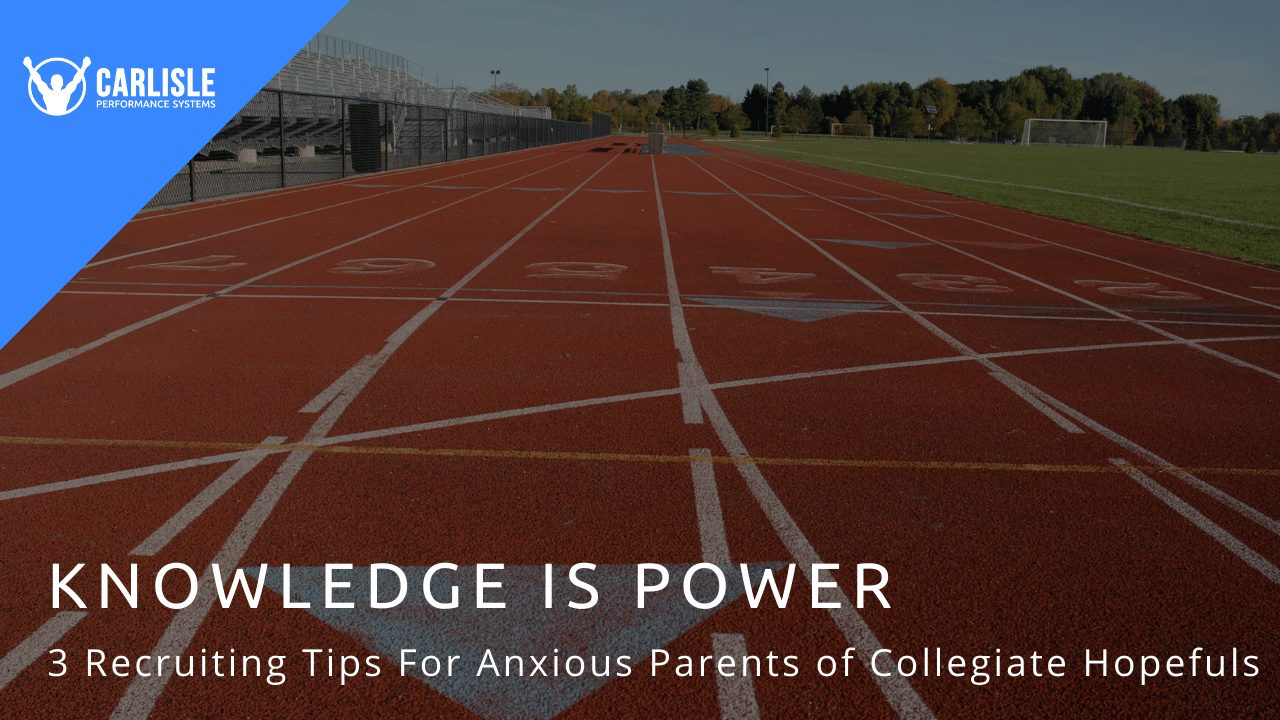 College Track Field Header for Blog Post